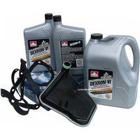 Pozostałe oleje, smary i płyny samochodowe, Filtr oraz olej Dextron-VI automatycznej skrzyni biegów AX4S Ford Taurus 1990-2007