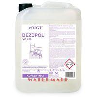 Pozostałe środki czyszczące, DEZOPOL 5 l gdy najważniejsza jest dezynfekcja - VC 420 VOIGT