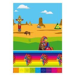 """Obrus foliowy """"Indianie"""", FOLAT, 180 x 130 cm"""
