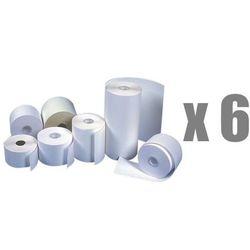 Rolki papierowe do kas termiczne Emerson, 110 mm x 30 m, opakowanie 6 x zgrzewka 10 rolek - Rabaty - Porady - Hurt - Negocjacja cen - Autoryzowana dystrybucja - Szybka dostawa