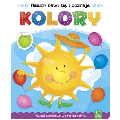 Książki dla dzieci, Maluch bawi się i poznaje Kolory - Praca zbiorowa (opr. broszurowa)