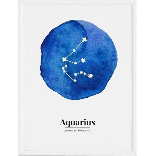 Plakaty, Plakat Aquarius 70 x 100 cm