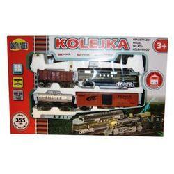 DROMADER Kolejka Średnia 355 cm+3 wagony