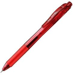 Cienkopis kulkowy Pentel Energel BLN105 czerwony