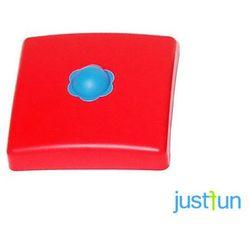 Nakładka plastikowa na belkę kwadratową 95x95 mm - czerwony