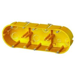 Puszka do płyt kartonowo-gipsowych Elektro-Plast PK-60 x 3 niepalna