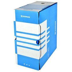 Pudło archiwizacyjne 1350 kartek FSC DONAU niebieskie kartonowe - X07613