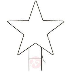 Metalowa gwiazda LED Mystic zewnętrzna 62 cm