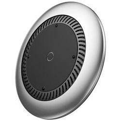 Baseus Whirlwind Wireless Charger bezprzewodowa ładowarka Qi z wentylatorem (CCALL-XU0S) srebrny