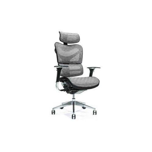 Fotele i krzesła biurowe, Ergonomiczny fotel biurowy ERGO 700 szary