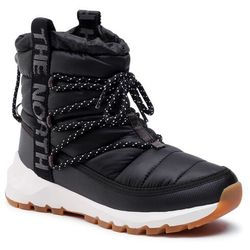 Śniegowce THE NORTH FACE - Thermoball Lace Up NF0A4AZGVD6 Tnf Black/Whisper White