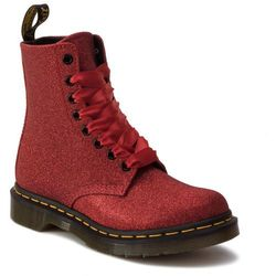 Glany DR. MARTENS - 1460 Pascal Glitter 24839602 Red/ Fine Glitter