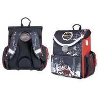 Tornistry i plecaki szkolne, Tornister kasetonowy Moto Sport Racing