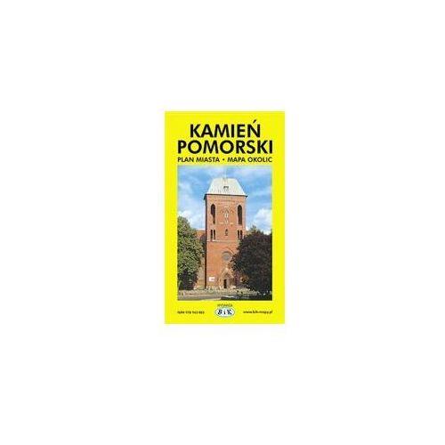 Mapy i atlasy turystyczne, Kamień Pomorski. Plan Miasta z Mapą Okolic (opr. broszurowa)
