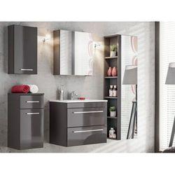 Zestaw MOLLY - meble łazienkowe - kolor szary