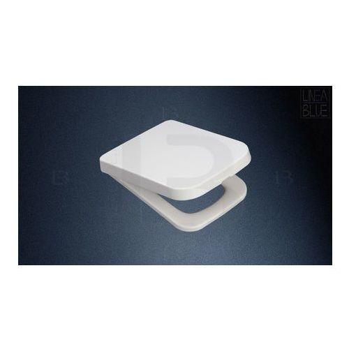 Deski i pokrywy do toalet, Deska sedesowa wolnoopadająca DS-022C