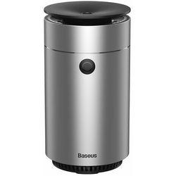Baseus elektryczny nawilżacz powietrza do domu biura samochodu 75 ml srebrny (DHSG-0S) - Srebrny