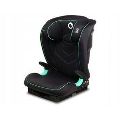 Lionelo neal black onyx fotelik 15-36kg i-size + organizer