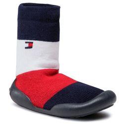 Kapcie TOMMY HILFIGER - Slipper T1B0-30973-0308Y Blue/Red/White 019