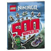 Kolorowanki, Lego Ninjago 500 naklejek - Ameet