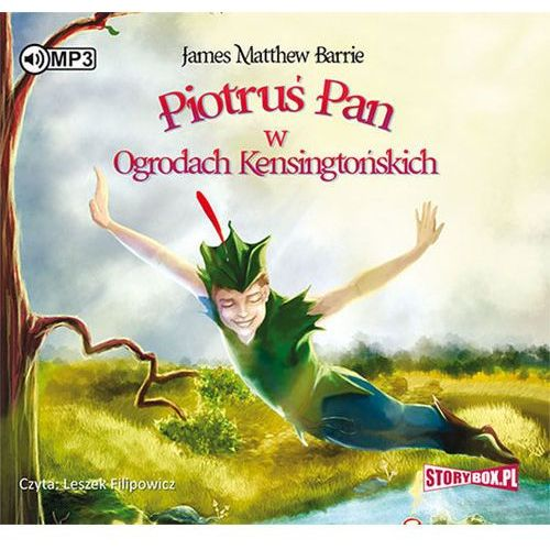 Książki dla młodzieży, Piotruś Pan w Ogrodach Kensingtońskich audiobook