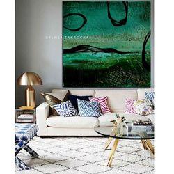 Tajemnicza zielen obrazy do salonu nowoczesnego rabat 10%