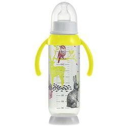 Butelka antykolkowa z uchwytem 330ml Beaba - Bunny yellow 911574