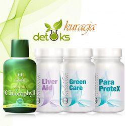 Kuracja detoksykująca - Liquid Chlorophyll, ParaProtex, Liver Aid, Green Care