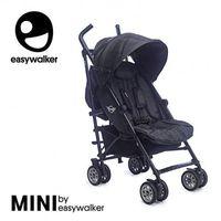 Wózki spacerowe, MINI by Easywalker Wózek spacerowy z osłonką przeciwdeszczową 6,5kg Midnight Jack