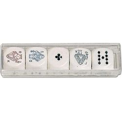 Kości pokerowe (22 mm) - Piatnik