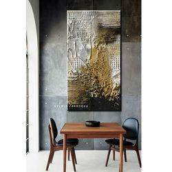 Burza piaskowa - abstrakcyjne obrazy do modnego salonu rabat 10%