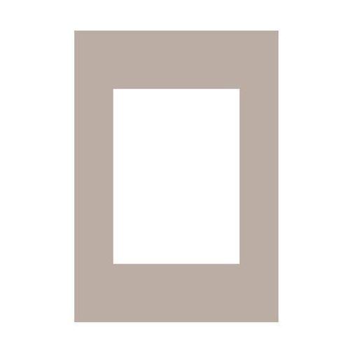 Ramy do obrazów, Passe-partout 178 beżowe 21 x 30 cm
