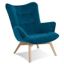 Krzesło Angel fotel turkusowy