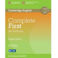 Językoznawstwo, Complete First for Schools. Książka Nauczyciela (opr. miękka)