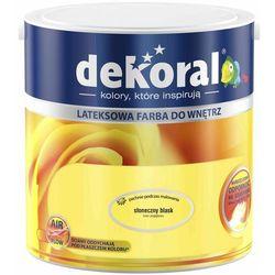 Farba Lateksowa Akrylit W Kolor Słoneczny Blask 2.5l Dekoral