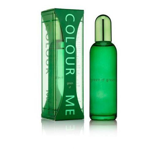 Wody perfumowane męskie, Colour Me Green EDP Woda perfumowana dla mężczyzn 90ml