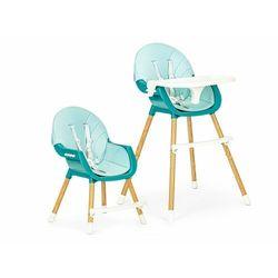 Fotelik, krzesełko do karmienia dla dzieci, ecotoys, 2w1, niebieski darmowa dostawa
