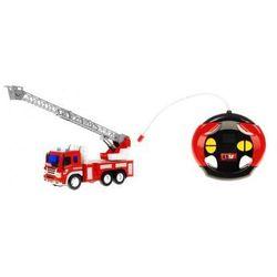 Duża Zdalnie Sterowana Straż Pożarna (w skali 1:16) + Bezprzewodowy Pilot Sterujący + Oświetlenie...