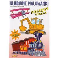 Książki dla dzieci, Pojazdy Stasia. Ulubione malowanki (opr. miękka)