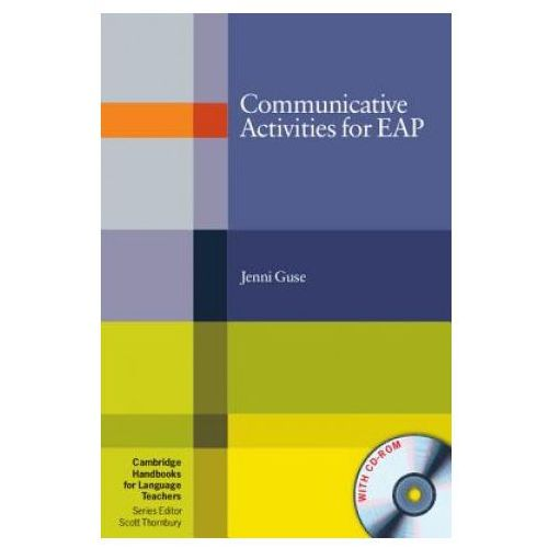Książki do nauki języka, Communicative Activities For EAP With CD-ROM Cambridge Handbooks For Language Teachers (opr. miękka)