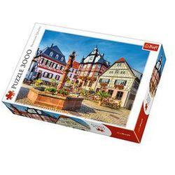 Puzzle 3000 elementów. Rynek w Heppenheim, Niemcy
