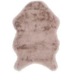 Sztuczne futerko/ dywanik Cuso różowy
