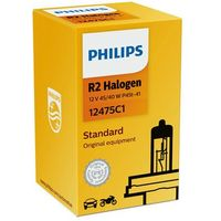 Żarówki halogenowe samochodowe, Zarowka 12V R2 45/40W P45T-41 Visio Halogenowa 1- Szt Philips