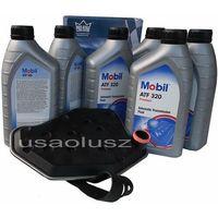 Oleje przekładniowe, Filtr oraz olej skrzyni biegów Mobil ATF320 Ford F150 F250 F350