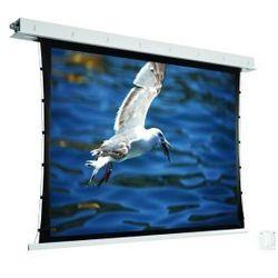 Ekran ścienny elektrycznie rozwijany z napinaczami Avers Contour Tension 210x119cm,16:9,White Ice