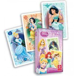 Karty Czarny Piotruś + Memo Disney Księżniczki Cartamundi