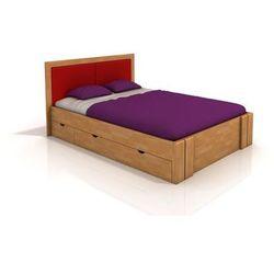 Łóżko bukowe Visby Kronoberg High Drawers