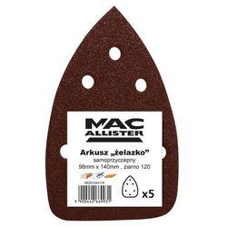 Papier żelazko MacAllister 98 x 140 mm A21 P120 5 szt.