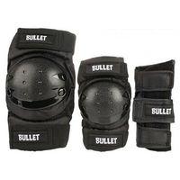 Ochraniacze na ciało, ochraniacze BULLET - Standard Combo Junior Black (BLACK) rozmiar: OS
