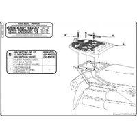 Stelaże motocyklowe, Kappa K200 Stelaż centralny Honda Xl 600 V Transalp (89